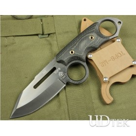 OEM TOPS M2 TITANIUM VERSION FIXED BLADE KNIFE RESCUE KNIFE HUNTING KNIFE UDTEK00626 T0PS-M2