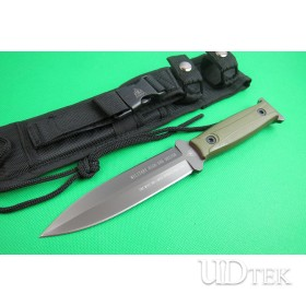 TOPS TY18A combat knife straight knife double blade knife UD401780