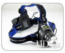 10w T6 blue Strong power charging headlamp UD09006