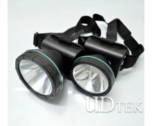 5W plastic Lithium battery headlamp LED waterproof lamp UD09011
