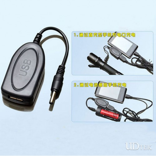 4.2v USB Strong light flashlight private sidings charger UD09092