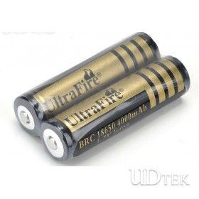 4000mah 18650 large capacity Rechargeable Lithium battery UD09102