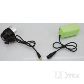3.7v 18650 head lamp Rechargeable battery pack  UD09107
