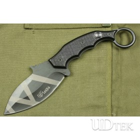5Cr13 STAINLESS STEEL  K601C MERMAID FIXED BLADE KNIFE WITH NYLON UDTEK00376