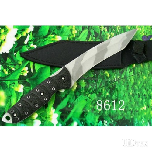 420 STAINLESS STEEL 55HRC NORWAY PIRATE FIXED BLADE KNIFE WITH NYLON KNIFE  UDTEK00384