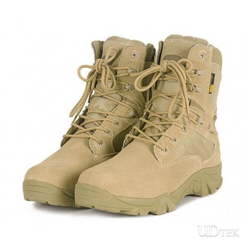 Delta army boots tactical boots with zipper UD15003