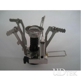 Mini protable Camping stove outdoor gas furnace folded stove UD16069