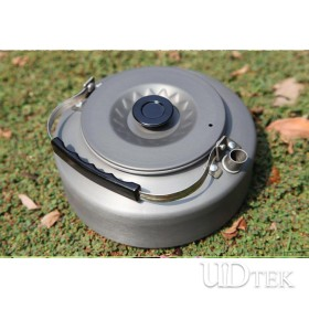 Aluminum alloy outdoor coffee pot outdoor teapot 1.6L kettle UD16081