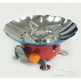 Outdoor camping windproof portable Furnace Aluminum Magnesium alloy gas burner UD16083