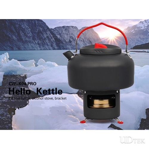 Alcos Alcohol furnace and outdoor coffee kettle teapot UD16090