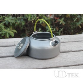 Outdoor Small portable travel kettle camping coffee pot 0.8L UD16101