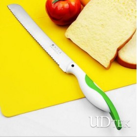 Stainless steel bread knife KN11908B serrated cake knife UD18012