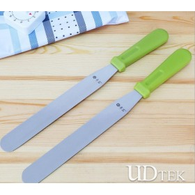 Stainless steel Decorating knife plastic handle Butter spatula UD18013