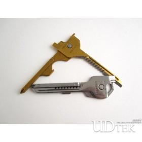 Red box swiss tech utili-key key 6 in 1 multifunctional knife portable tool Combination Tool 003