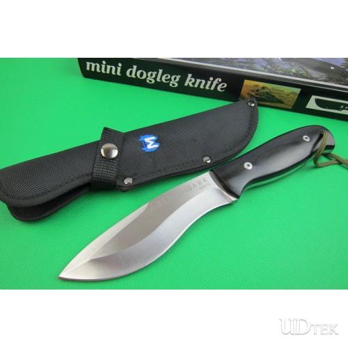 Benchmade M .Mercerizing dog leg hunting knife UD401742
