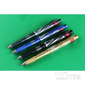 4 Different colors in stock survival defense pen with LED light UD402169