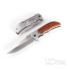 SOG FA20 quick opening folding knife(wood handle)UD402283