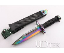 Upgraded version 95 colorful Titanium bayonet thorn UD404408