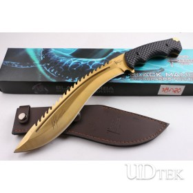 Todd Berger black mamba Whale hunting golden color machete Derndroaspis Polylepis UD404449
