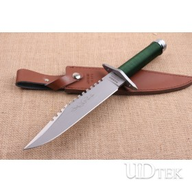 Hand signed version Rambo I First Blood 5CR15MOV hunting combat knife UD404844