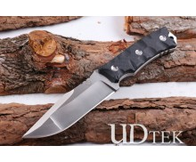 Bolte D2 blade outdoor survival knife with two different colors UD404883