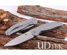 Bear Head Cronidur 30 EVO Turtle steel lock folding knife UD404896