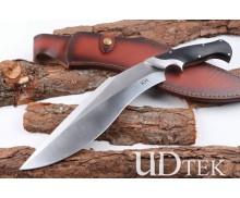 KHUKURI Ruler fixed blade knife machete with G10 handle UD404901
