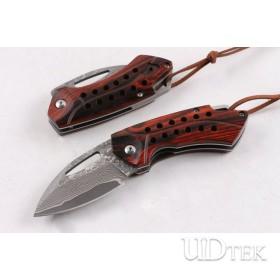 VG10 Damascus Little Hornets folding knife UD404908