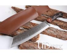 MKK Vortex feathers flat head camping knife machete UD404921
