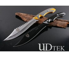 Columbia tiger head M730 fixed blade camping knife machete UD404961