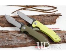 ZT0920 Zero Tolerance  two colors fast opening bearing folding knife UD405157