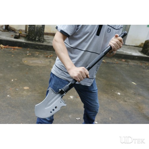 Multi-purpose black color adjustable Crescent shovel spade UD405206
