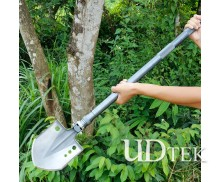 Rukuda.a Thicken and lengthen Outdoor multifunctional military adjustable shovel spade UD405213