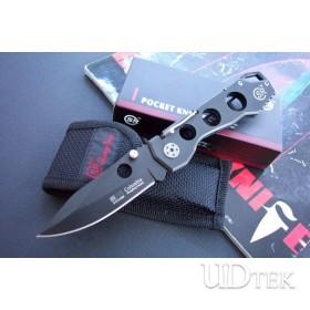 SR 338B liner lock folding knife UD40712