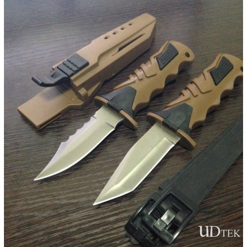 Outdoor survival knife diving knife Boot Knife UD50028