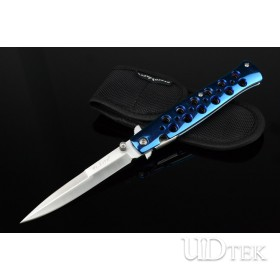 Cold Steel 26S all steel blue butterfly folding knife UD50057
