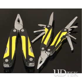 Outdoor colorful Multifunctional stainless steel folding pliers UD50125