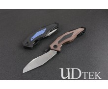 ZT Zero Tolerance poisonous snake built-in bearing folding knife with 2 colors UD505095