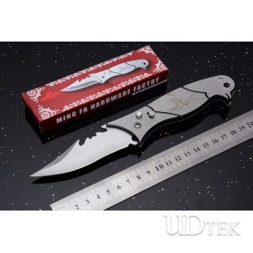 AK-168 new semi-automatic jump knife camping knife UD53001G