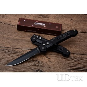 B-188 Boker 13cr13 stainless steel serrated blade new semi-automatic jump knife UD53023G